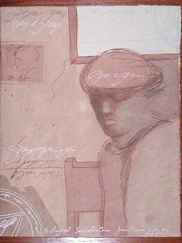 Juan Ramón Velázquez - Dibujo Técnica Mixta imagen en alexisfigueroa.com