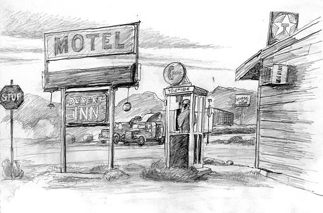 Beatty, Nevada-Truckstop