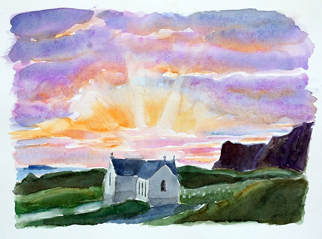 Malin Head Sunset