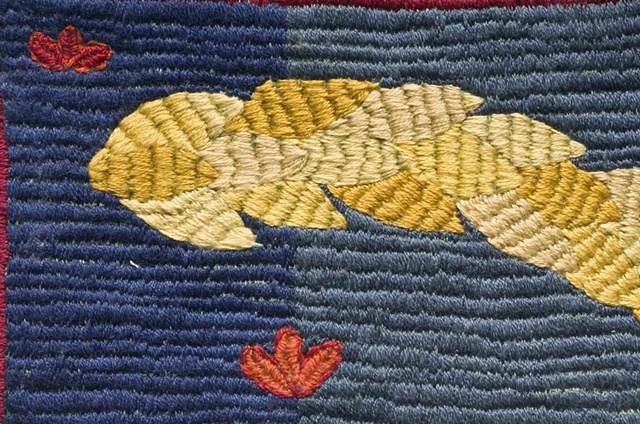 Embroidery Tile 7, Detail