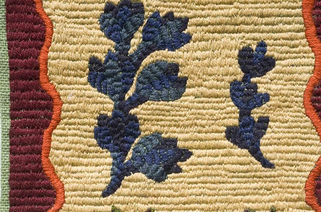 Embroidery Tile 4, Detail