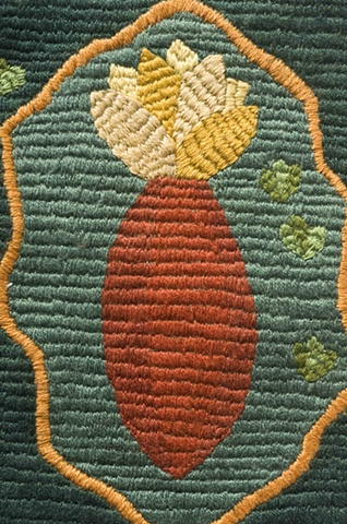 Embroidery Tile 6, Detail
