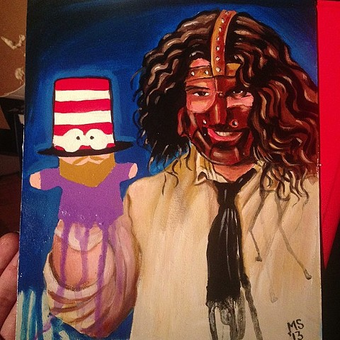 Mankind & Mr. Hat
