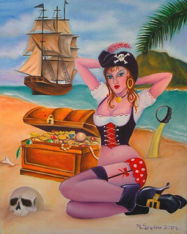 Pirate Pin Up sold