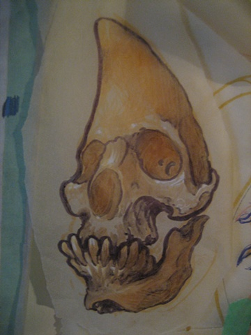 crescent skull