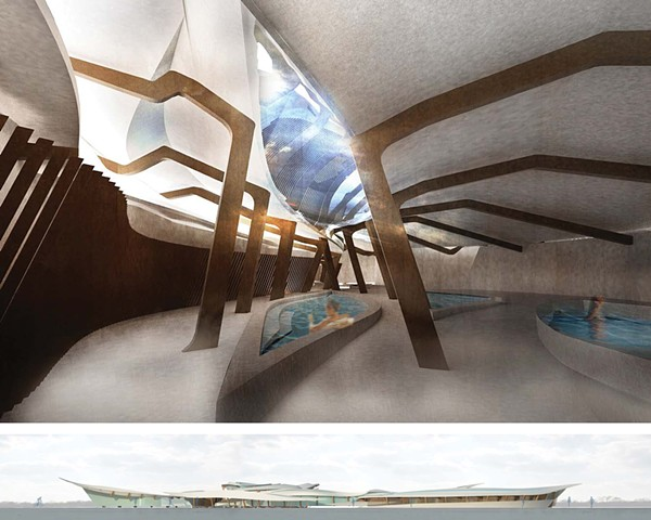 Sensory Release Spa and Hotel Design