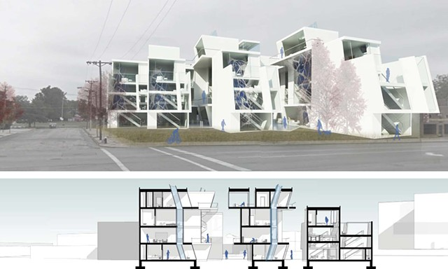 •  Urban Housing in St. Louis - Delmar Blvd and Hamilton Ave