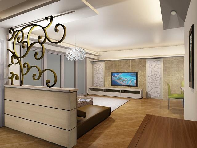 • Residential Housing: Living Room