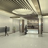 •  Apartment Lobby Design - Angle 1
