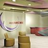 •   Interior Perspective - Reception Area