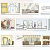 •   Dental Office - Interior Elevations