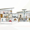 •   Design and Stain Glass Studio - Building Section