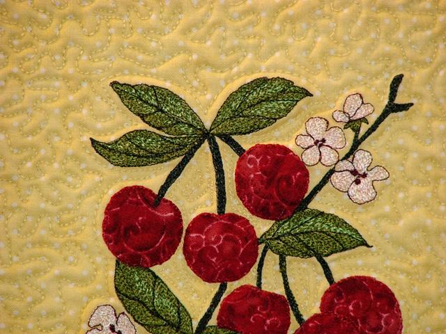 Cherries Closeup