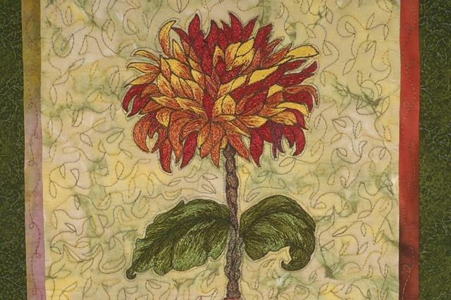 Fire Flower Closeup