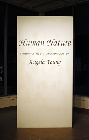 Exhibition Title Wall