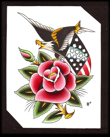 sailor jerry flash rose  Sailor Jerry Flash repaint