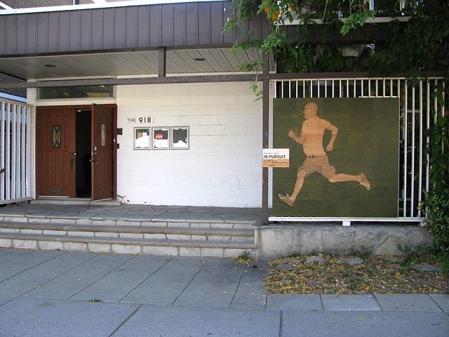 Running Left (Installation view)
