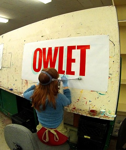 Sign Painting School!