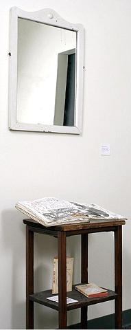 Table, Mirror and Books