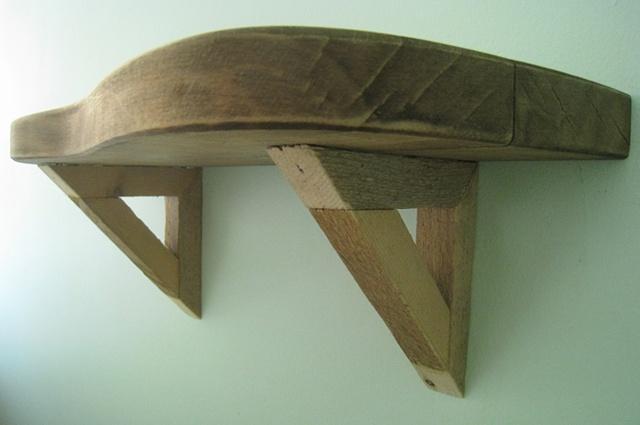 Bedside Shelf (sideview)