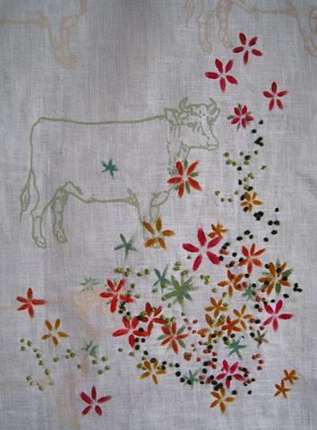 Cow Ascending (detail)