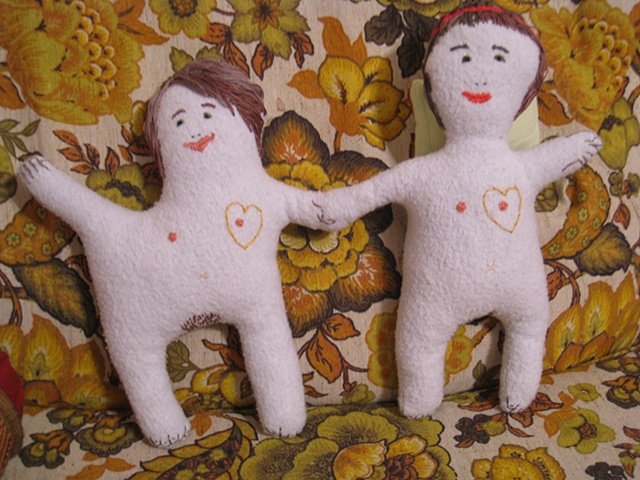 naked friends doll