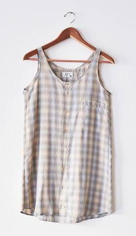 Tank Shirt Dress