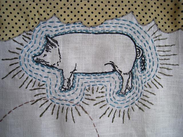 Radiant Pig (detail)