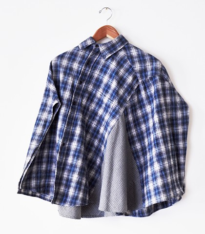 Flannel Askew Cape
