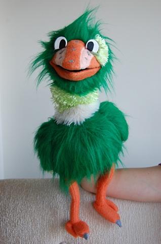 baby bird puppet