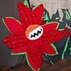 ferocious flower puppet