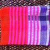 Hand woven zippered pouch