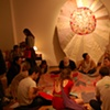 quilting bee in the gallery!