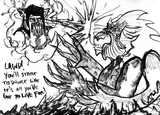 ewok of death metal battles the kraken.  and wins.  11-26-11
