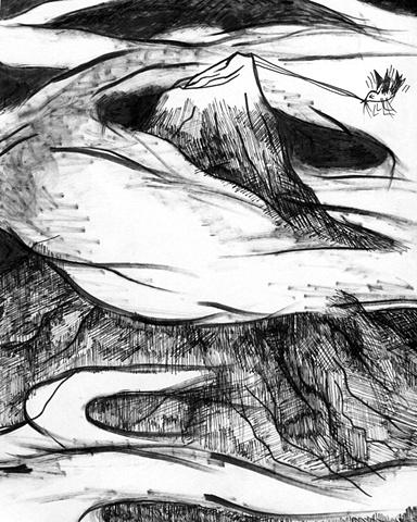 A Sleeping Mountain Exits Slowly 04/20/10
