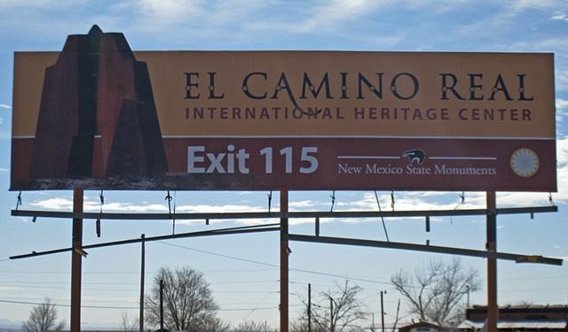 Camino Real Billboard