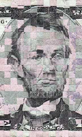 Value Added (Abraham Lincoln - detail)