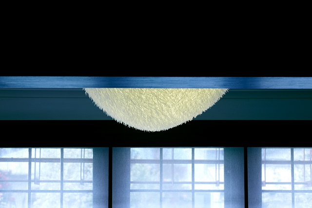 Cable tie chandelier