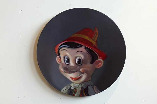 """Portrait of a Flirty Pinocchio"""