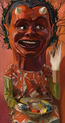"""Everyman Self Portrait - My Big Devil Head"""