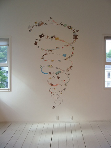 Justin Richel Installation at Center for Maine Contemporary Art, Rockport, ME.