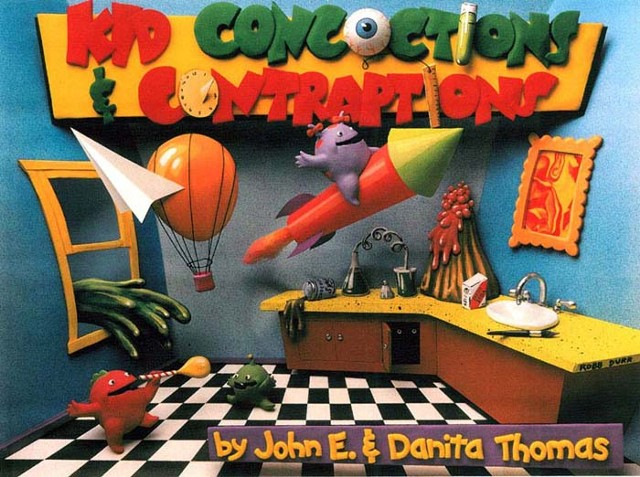 Kid Concoctions and Contraptions book cover