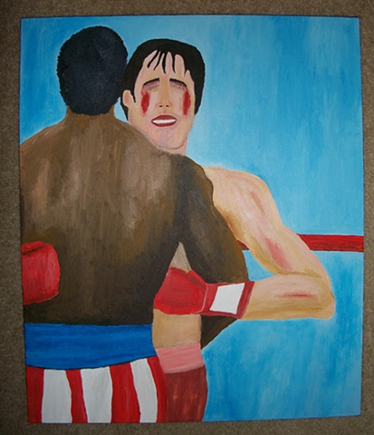 Rocky Balboa Vs. Apollo Creed No. 3