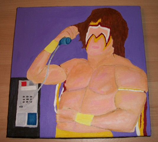 The Ultimate Warrior Receives an Important Telephone Call