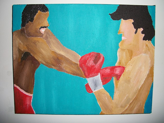 Rocky Balboa Vs. Apollo Creed No. 1