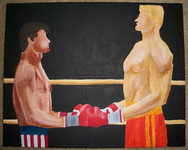 Rocky Balboa Vs. Ivan Drago No. 2