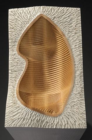 """Vessel"" detail of furniture piece by Rich Tannen"