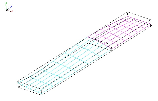 Cabinet CAD design of the surface