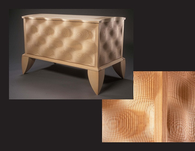 """Blanket Chest"", furniture piece by Rich Tannen"