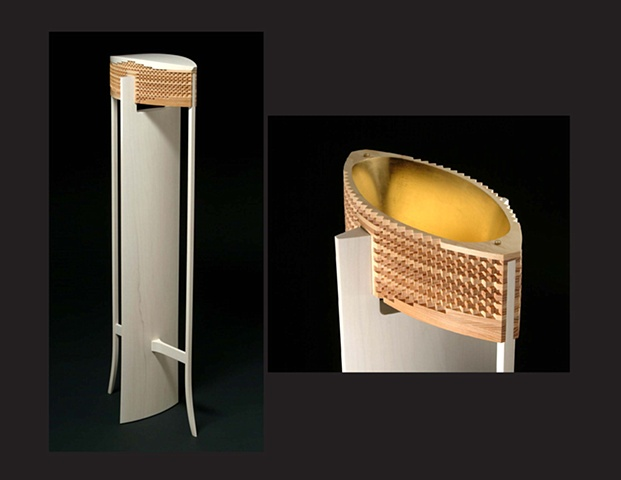 """""""Tall Reliquary"""", furniture piece by Rich Tannen"""